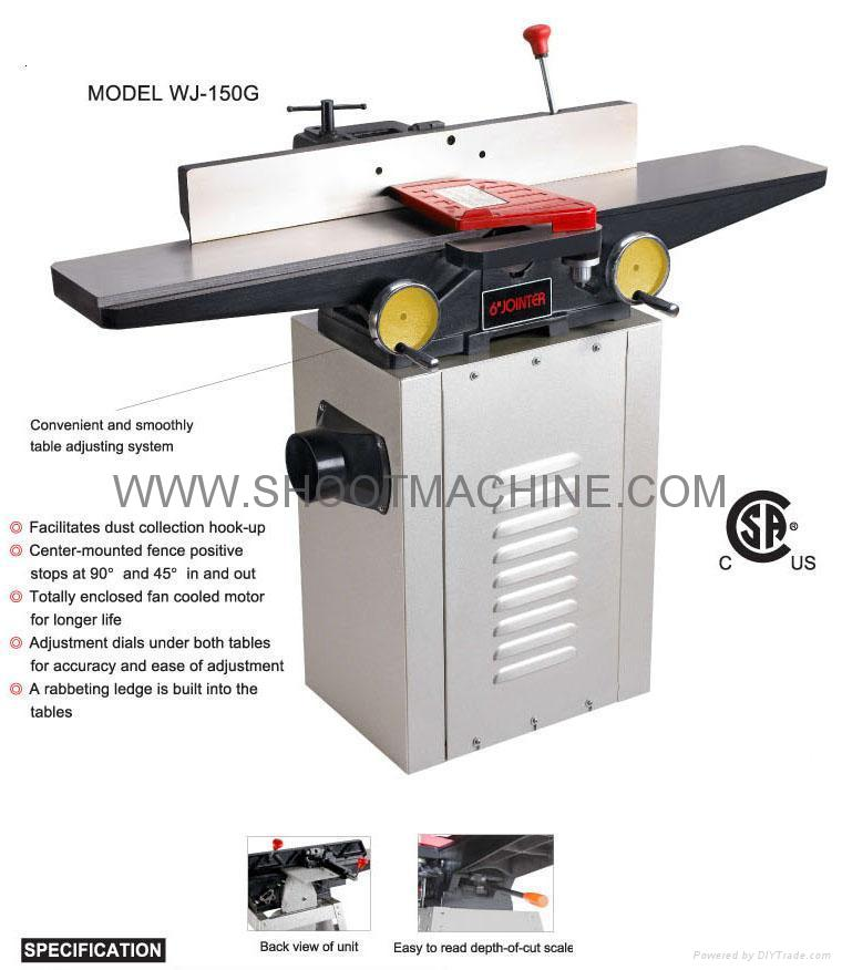 6 Quot Wood Jointer Machine Wj 150g Shoot China