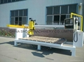 CNC cutting Stone Saw Machine with turn head and angle control, SHXY-2000X3000