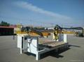 CNC cutting Stone Saw Machine with turn head and angle control, SHXY-2000X3000