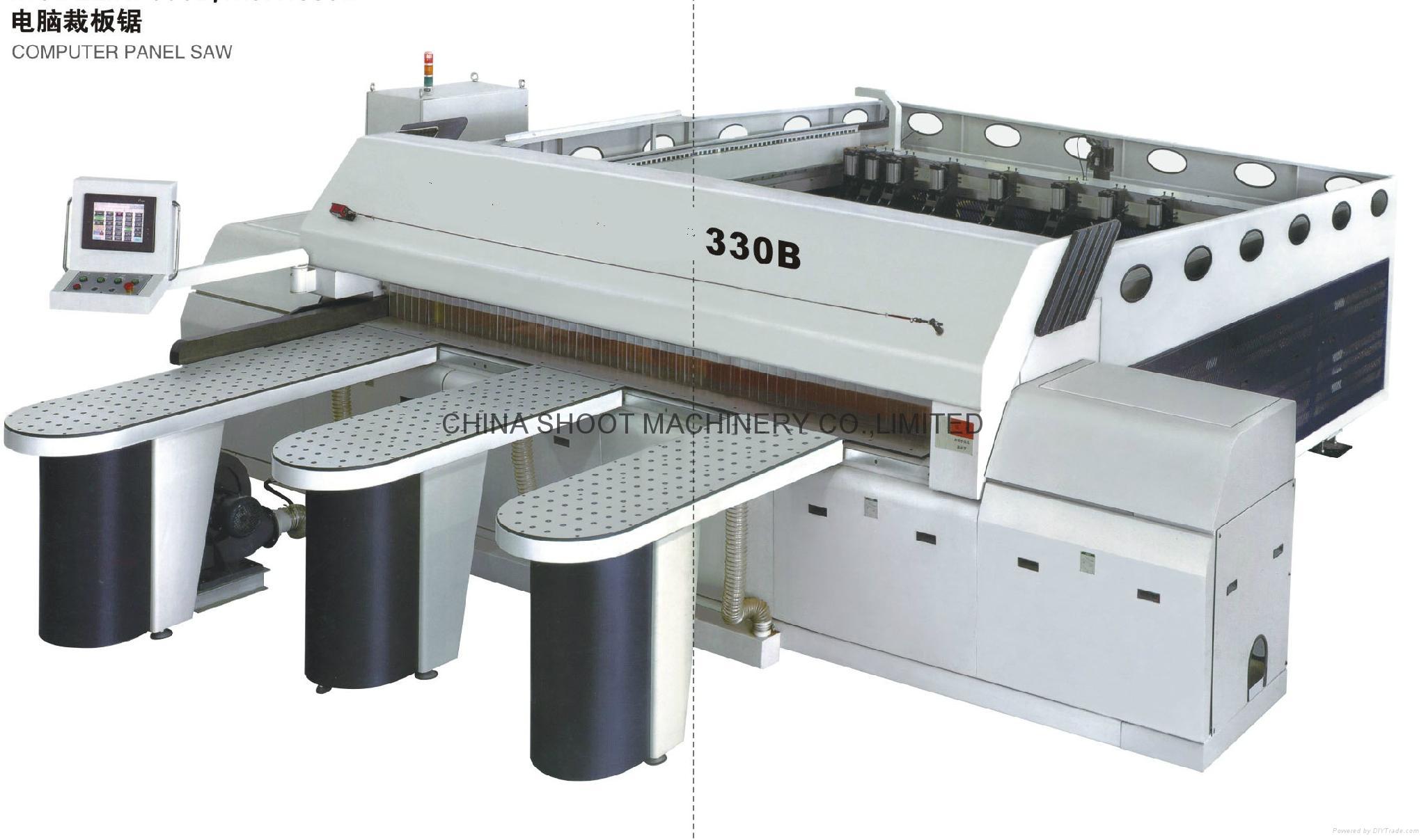 Full Automatic Computer Panel Saw Machine, SH330B 1