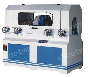 Round Wood Cutter Machine (Feeding Wheel Double Feeding & Double Discharging)