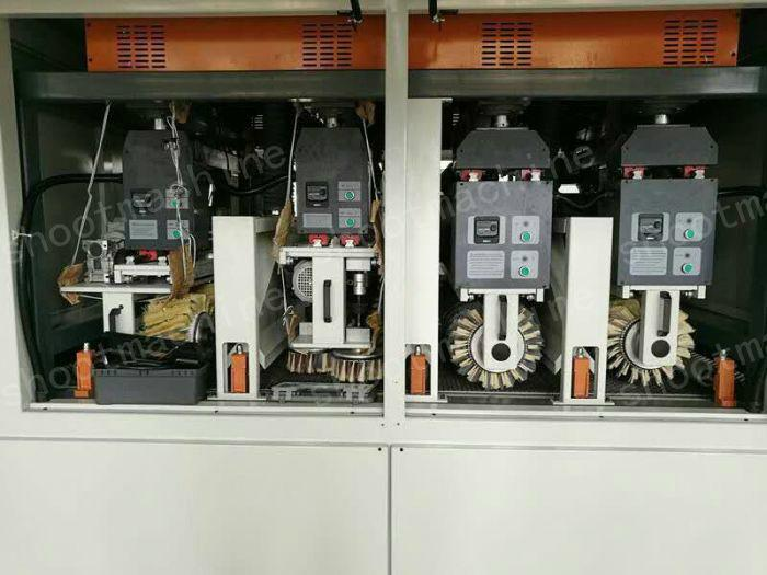 Vertical and Horizontal Combination of Profiled Sanding Machine with 1100mm  3