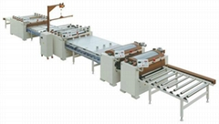 16m Paper (PVC) Sticking Production Line (High Matching Type),SH1350D-II