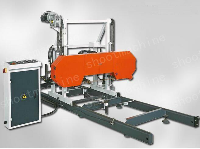 Horizontal Woodworking Band Saw Machine with 1200 mm Saw Wood Diameter