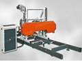 Horizontal Woodworking Band Saw Machine with 1200 mm Saw Wood Diameter