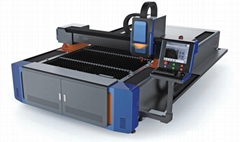 Fiber Laser Machine with 3000x1500mm work, SHLF-3015L