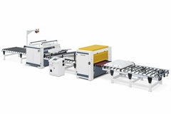 Laminating Product Line For PUR Glue, SH1350PURM