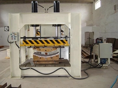Woodworking Hot Press Machine With Working Table Size 1200x600mm & 60T,SHGPYJ60