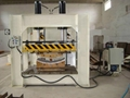 Woodworking Hot Press Machine With Working Table Size 1500x800mm & 80T,SHGPYJ80