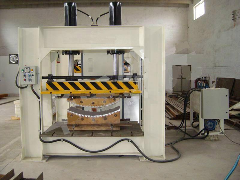 Hot Press Machine With Working Table Size 2000x1000mm & 120T,SHGPYJ120