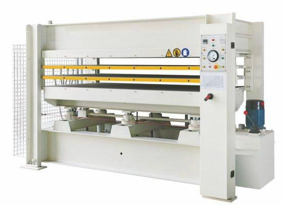 Hot Press Machine With Working Table Size 2500x1300mm & 100T,SH48-100T/3