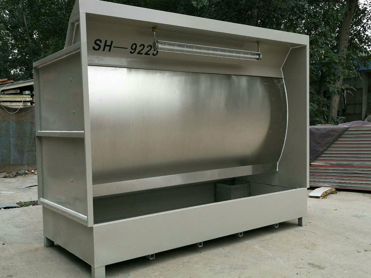 Water Curtain Spray Booth, SH-9240 2