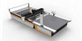 1.   Four-axis Japan imported Yaskawa servo system (cutting high precision, fast)
