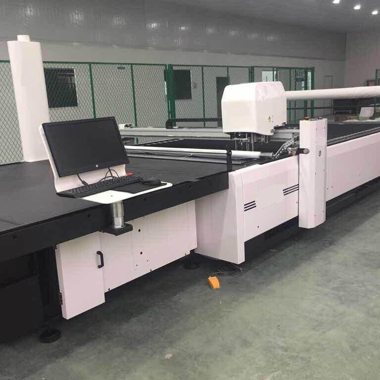 Fully Automatic Multi Layers Fabric Knife Cutting Machine, SH1725CNC 4