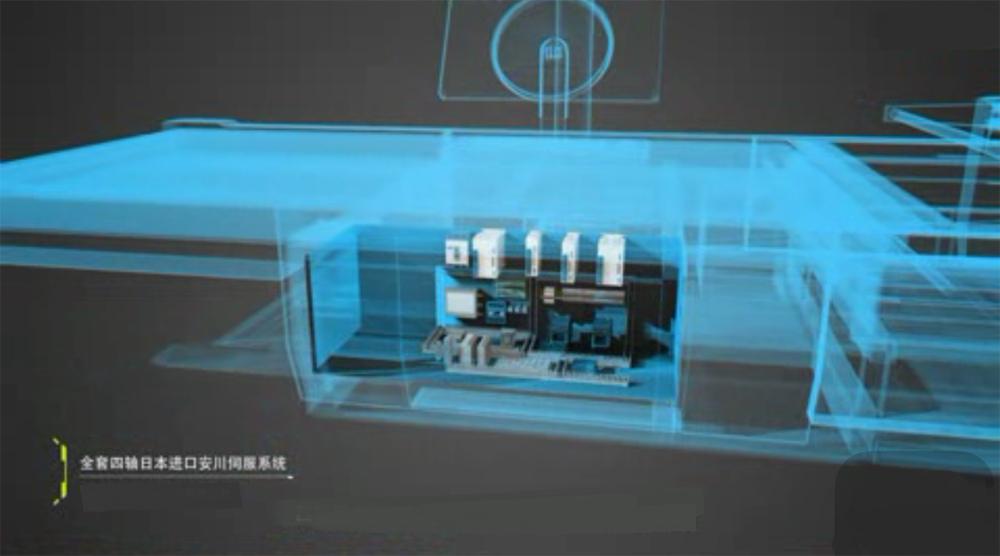 Fully Automatic Multi Layers Fabric Knife Cutting Machine, SH1725CNC 6