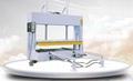 Cold Press Machine with horizontal feeding device