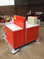 Round Log Cutting Machine With 1200mm Length Feeder Work Table	,SHRLC-400