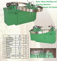 Welding & Side Grinding Machine For Saw Blade Of Alloyed Teeth, SH-F8104