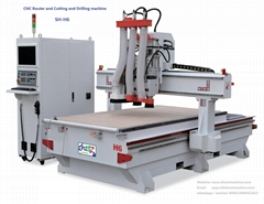 CNC Cutting and Router and Drilling Machine, SH-H6 (Hot Product - 1*)
