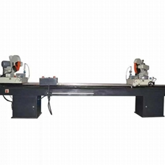 Aluminum Plastic Profile Double Angle Cutting Saw With 45 Degree