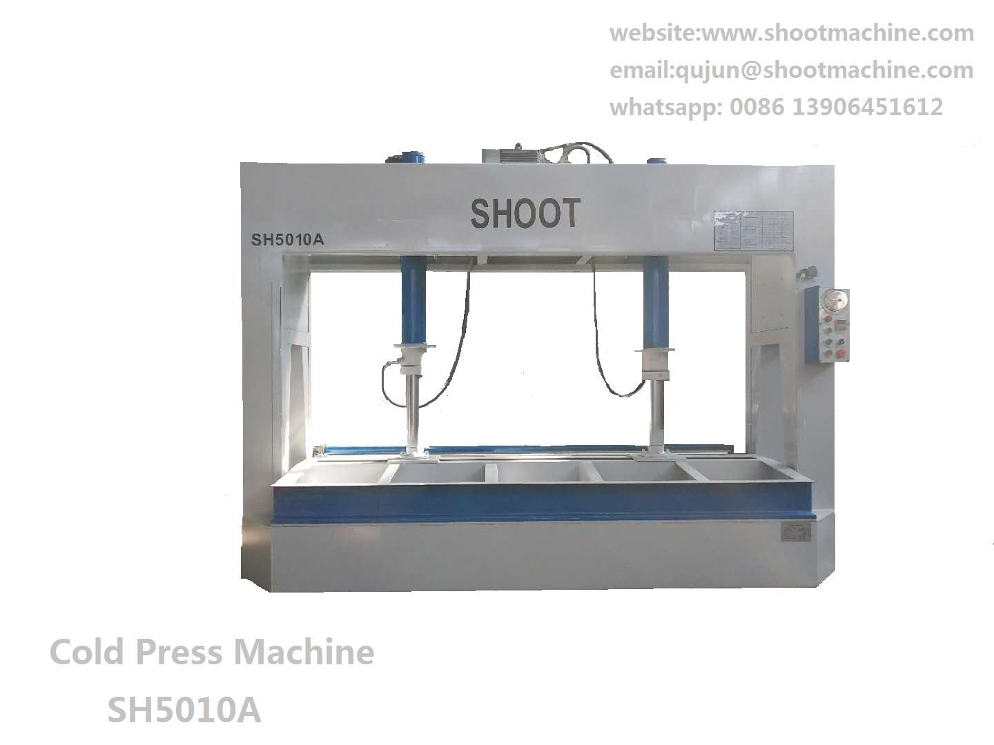 Hydraulic Cold Press Machine SH5010A  with 2500x1250mm working table