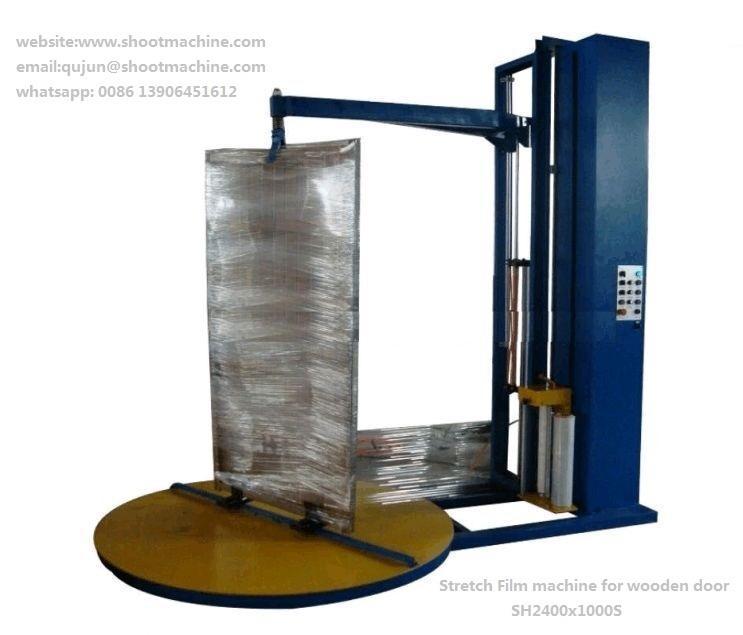 Stretch Film Machine For Wooden Door, SH2400X1200S