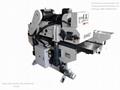 Heavy-duty double-sides moulder machine,