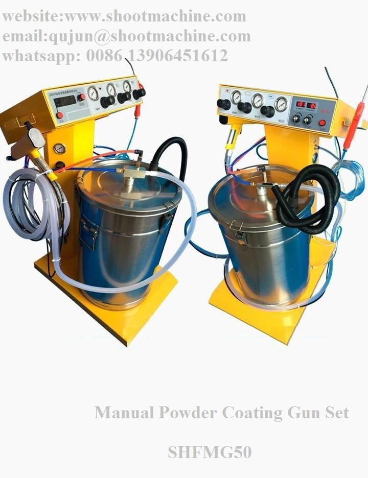 Manual Powder Coating Gun Set, SHFMG50