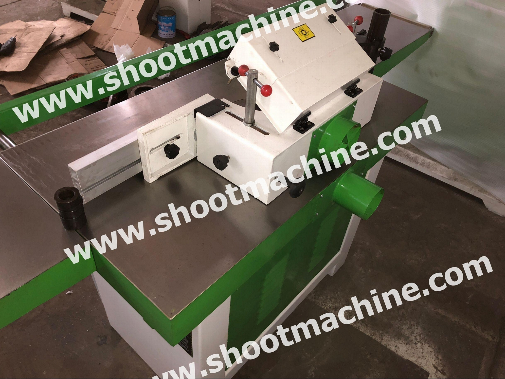 Woodworking Vertical Milling Machine With Big Worktable, MX5513A 4