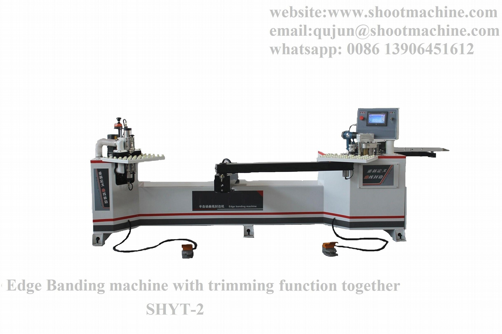 Edge Banding Machine With Trimming Function Together,SHYT-2