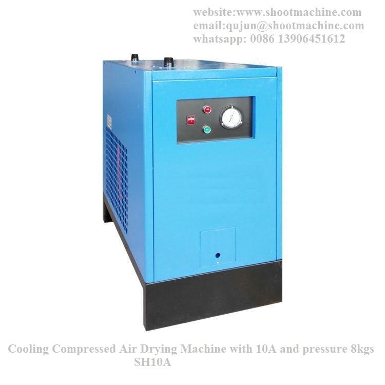 Cooling Compressed Air Drying Machine with 10A and pressure 8kgs, SH10A