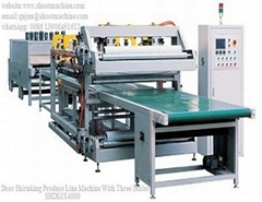 Door Shrinking Produce Line Machine With Three Sealer, SHDS3X4000