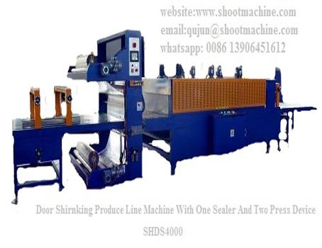 Door Shrinking Produce Line Machine With One Sealer & Two Press Device,SHDS4000