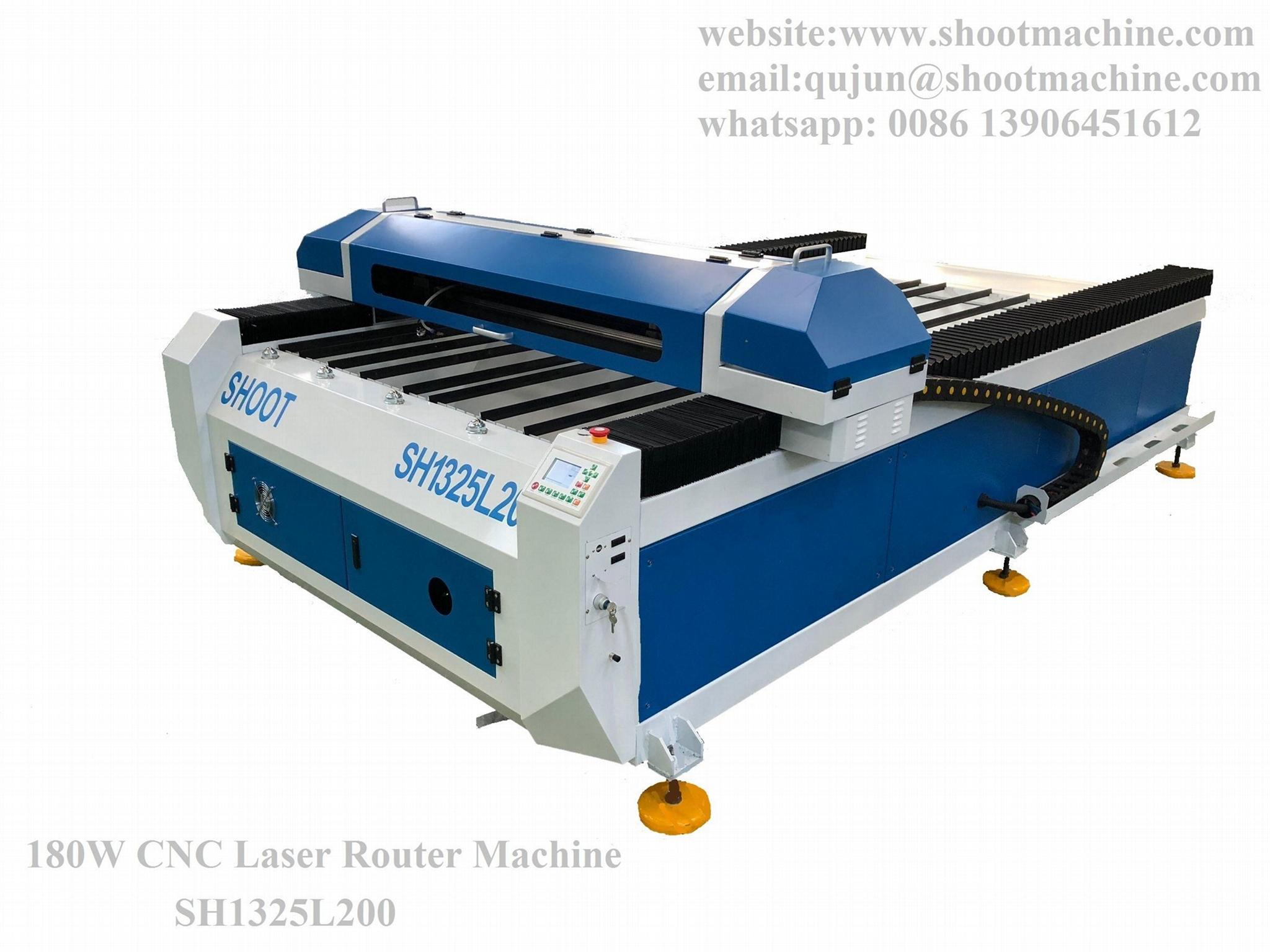 180W CNC Laser Router Machine, SH1325L200