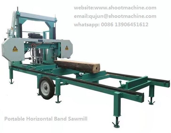 Portable Band Sawmill machine, SH700PS