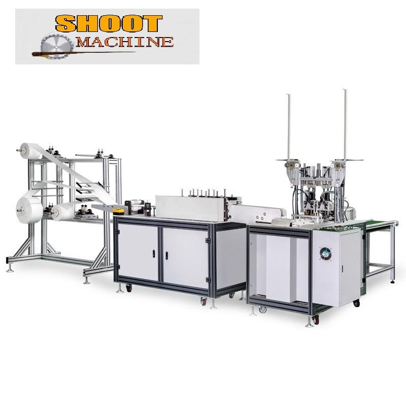 Automatic Mask Production Line With Ear Band Welding Equipment, SHMASK-802