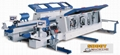 Automatic Woodworking Double Side Edge Bander Machine with double end, SH2468JHS