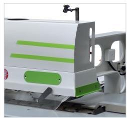 Woodworking Auto feed Cutting Edge Rip Saw, SHMJ164 2