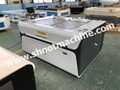 Double Head Laser Engraving Cutting Machine with 1300x1000mm work, SHCOL-1310