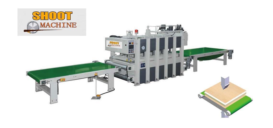 Melamine (Wood Skin) Laminating Hot Press Machine.SHLHP24*8/160