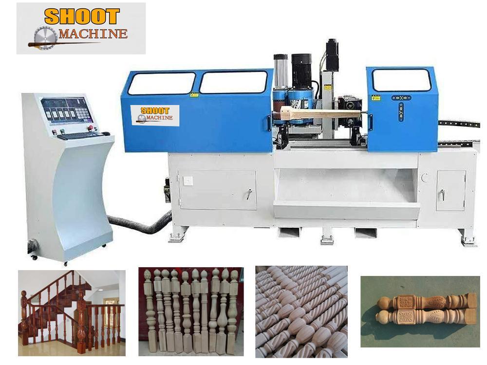 3 in 1 Combine CNC Woodworking Lathe Machine ,SH3013