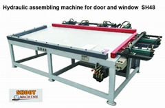 Hydraulic Door And Window Assembling Machine	, SH48