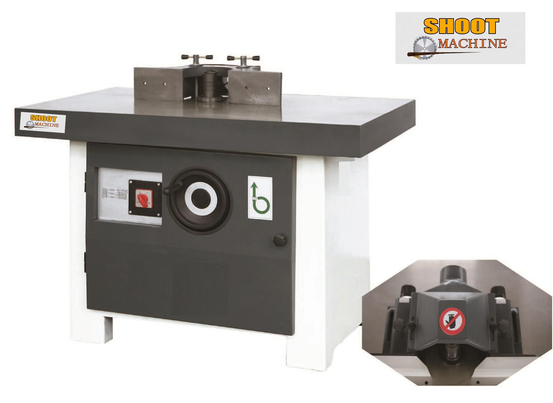 Woodworking Vertical Single-spindle Milling Machine,SH5117A,SH5117B,FORMA 100