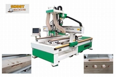 CNC Gate Lock Slotter And Hinge Machine with auto change cutter,SH220F