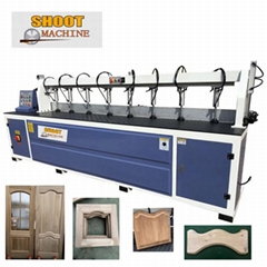 Woodworking Door Curve and Straight Line Shape Machine,SHCS2580