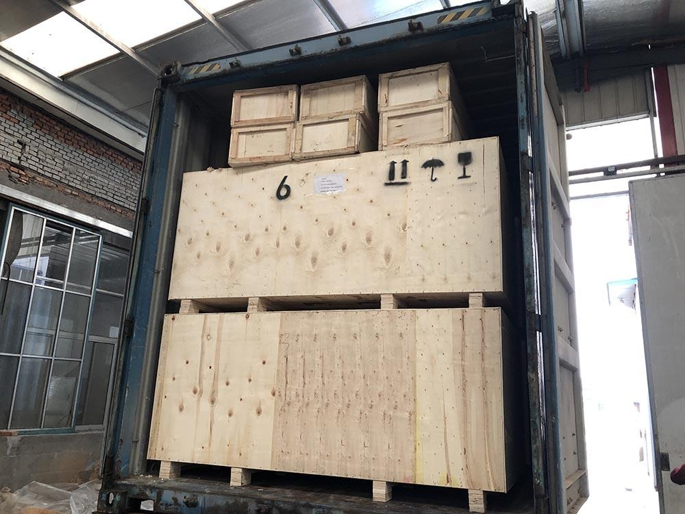 panel saw machine shipping container