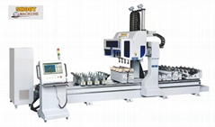 CNC Tenon And Mortiser Machining Center,SH4350-4X2