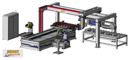 CNC Wooden Door 4 Sides Cutting Machine, SH-1180