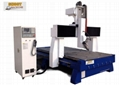 4 Axis CNC Router Machine with Rotary function,SHCNC1325RA