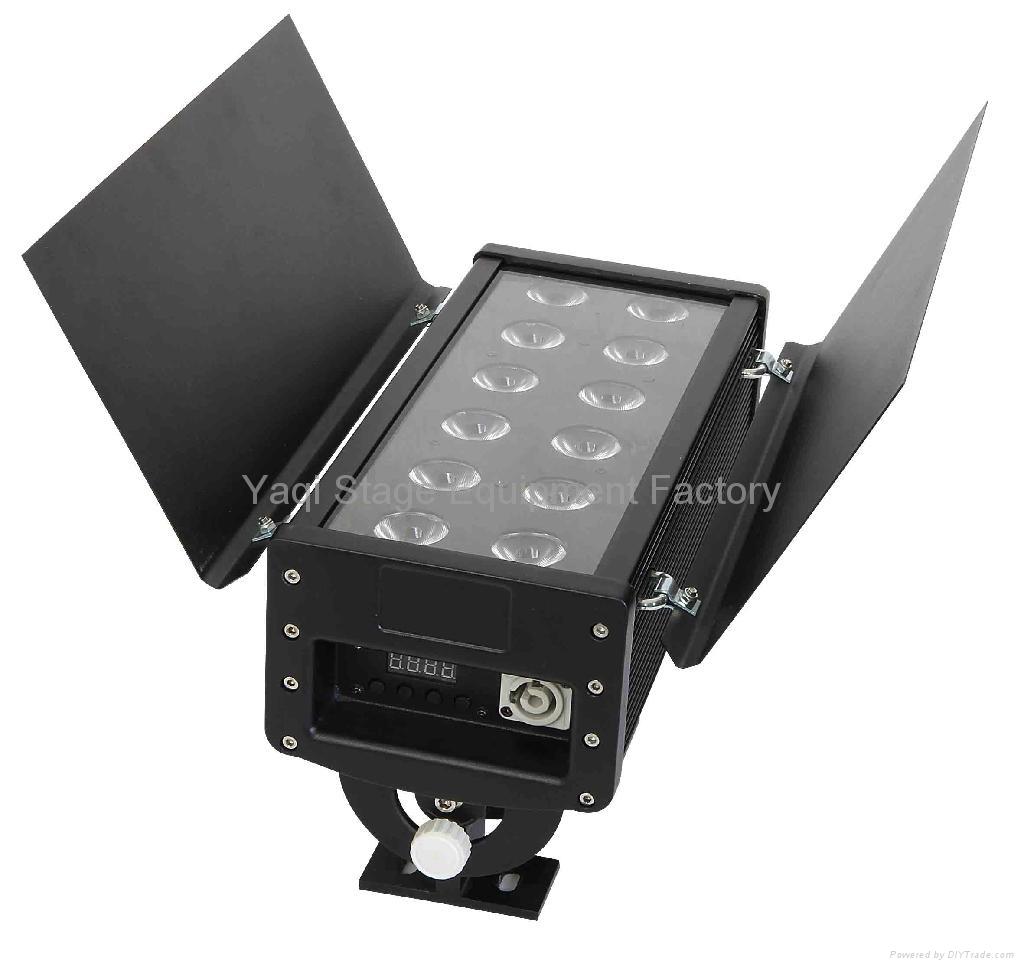 LED WALL WASHER 12*3W RGB 3IN1 1